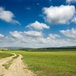 chemin de terre — Photo
