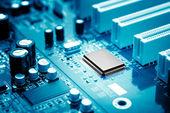 Mikrochip — Zdjęcie stockowe
