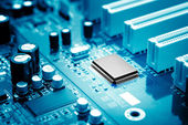 Mikrochip — Stockfoto