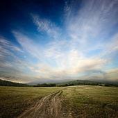 Camino de tierra — Foto de Stock