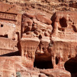 Petra - Nabataeans capital city ( Al Khazneh ) Jordan — Stock Photo
