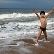 Child on the beach — Stock Photo #11374863