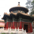 A Gazebo in the Imperial Palace Yard - Forbidden City, Beijing — Stock Photo