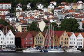 Views of city Berben — Stock Photo