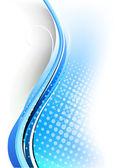 Streszczenie niebieskim tle — Wektor stockowy
