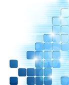 Hintergrund mit quadraten — Stockvektor