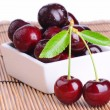 Juicy ripe cherries — Stock Photo