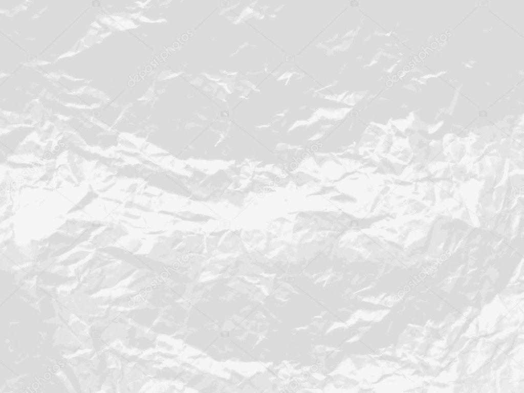 空白白弄皱的纸.矢量纹理背景– 图库插图