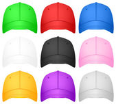 Baseball cap set — Vettoriale Stock