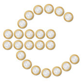 Euro symbol — Stockvektor