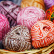 Knitted Wool — Stock Photo