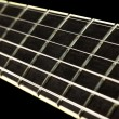 Stock Photo: Guitar Fretboard Closeup