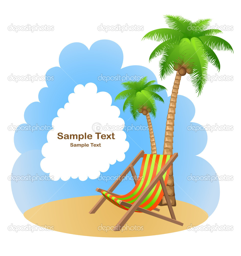 Vacation background  — Stock Vector #11397223