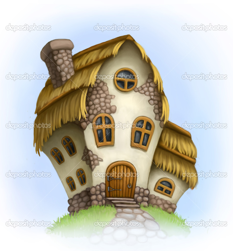 Fairy-tale house  — Stock Photo #11416419