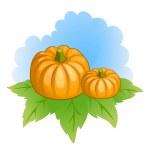 Vector pumpkins — Stock Vector