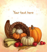 Thanksgiving-hintergrund — Stockfoto