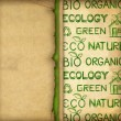 Foto Stock: Eco wallpaper