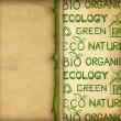 Eco tapeter — Stockfoto