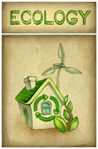 Eco illustration — Stock Photo