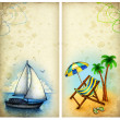 Vacation backgrounds — Stock Photo