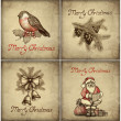 Set of christmas greeting card — Stock Photo #11540974