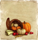 Thanksgiving kort — Stockfoto