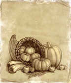 Thanksgiving background — Stock Photo