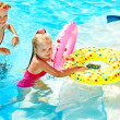 Children swimming in pool. — Stock Photo #11294819