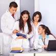 Group of doctor at hospital. — Foto Stock