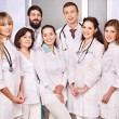 Group of doctor at hospital. — Stockfoto