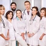 Groupe de médecin à l'hôpital — Photo
