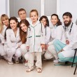 Group of doctor at hospital. — Stock Photo