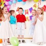 Child birthday party . — Stock Photo #11295083