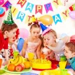 Child birthday party . — Stock Photo #11295086