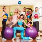 Women in aerobics class. — Stock Photo #11295270