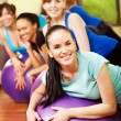 Women in aerobics class. — Stock Photo #11295271
