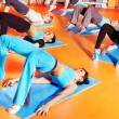 Women in aerobics class. — Stock Photo #11295286