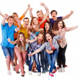 Group sport fan cheer for. — Stock Photo #11295463