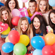 Group on party. — Stock Photo #11295480