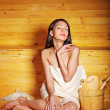 Girl in sauna. — Stock Photo #11295881