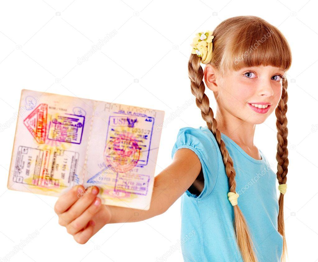 Как сделать заграничный паспорт ребенку