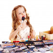 Child cosmetics. — Stock Photo