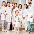 Group of doctor at hospital. - Stock Photo