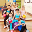 Women in aerobics class. — Stock Photo #11831879