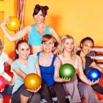 Women in aerobics class. — Stock Photo #11831911