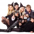 Group young on party. — Stock Photo #11832556