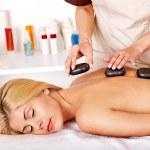 Woman getting massage . — Stock Photo #11834555