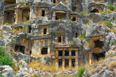 Tombs in Myra — Stock Photo