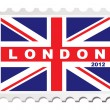 London 2012 stamp — Stock Vector