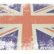 British flag flat — Stock Vector #11579458